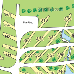 Poncho's Pond Park Map : Poncho's Pond